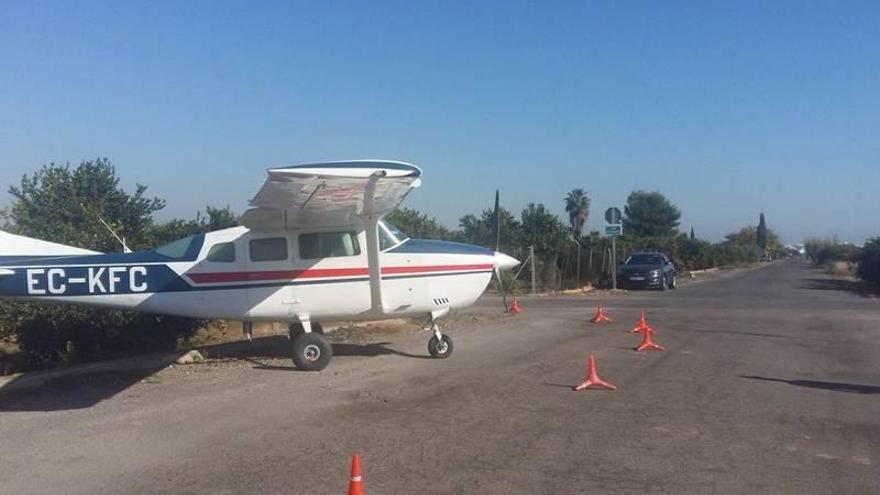 Una avería provoca un aterrizaje de emergencia en Burriana