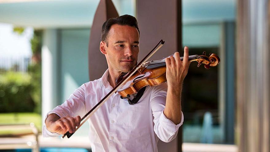El violinista Linus Roth retoma el festival internacional Ibiza Concerts
