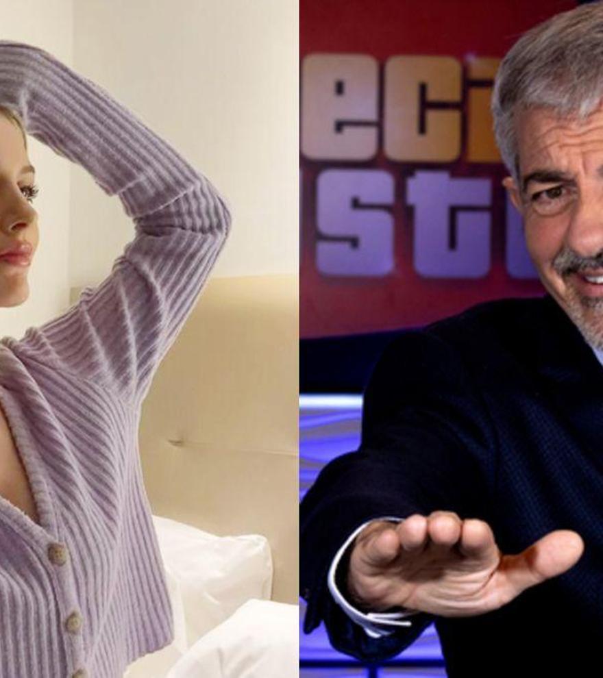 Arianna Aragón, la hijastra de Carlos Sobera que le ha eclipsado en el regreso de 'El precio justo'