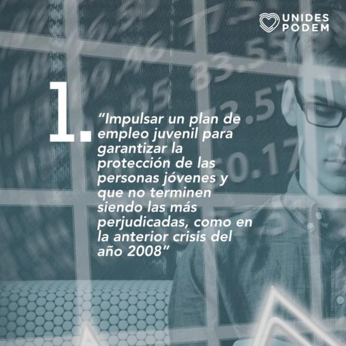 La coalición propone a Mari Carmen Sánchez (Cs) posibles medidas a impulsar para hacer frente a la crisis generada por el coronavirus en la ciudad.