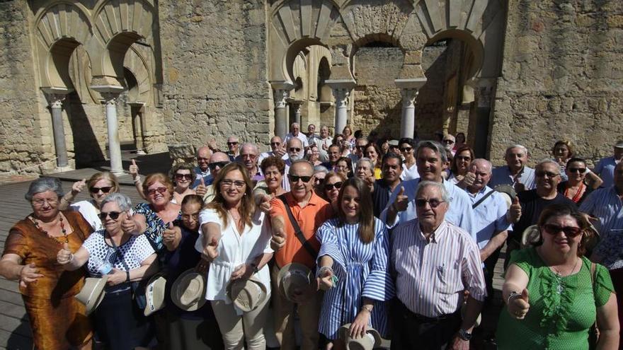 Los mayores, nuevo apoyo a la candidatura de Medina Azahara como Patrimonio de la Humanidad