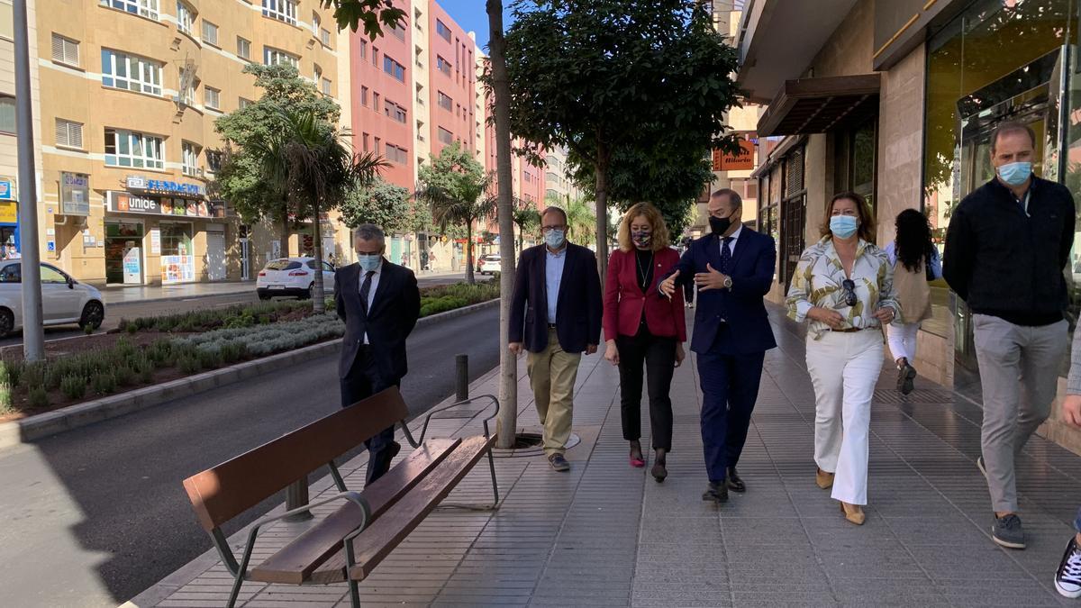 Abren el tramo de la MetroGuagua entre las calles Venegas y Luis Doreste Silva