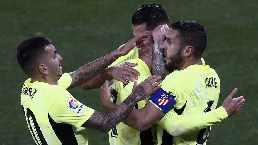 Triplete del Atlético al Osasuna con dos goles de Joao Félix
