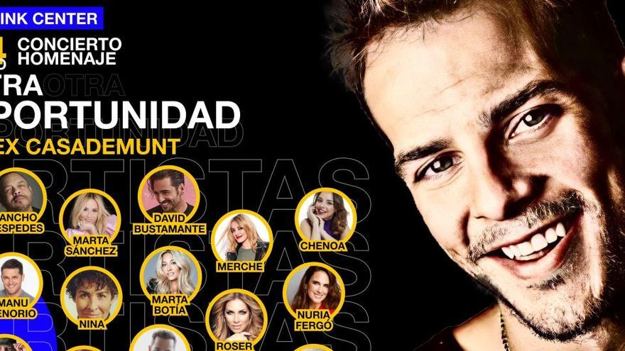 Excompanys d'OT faran un homenatge a Àlex Casademunt amb un concert a Madrid