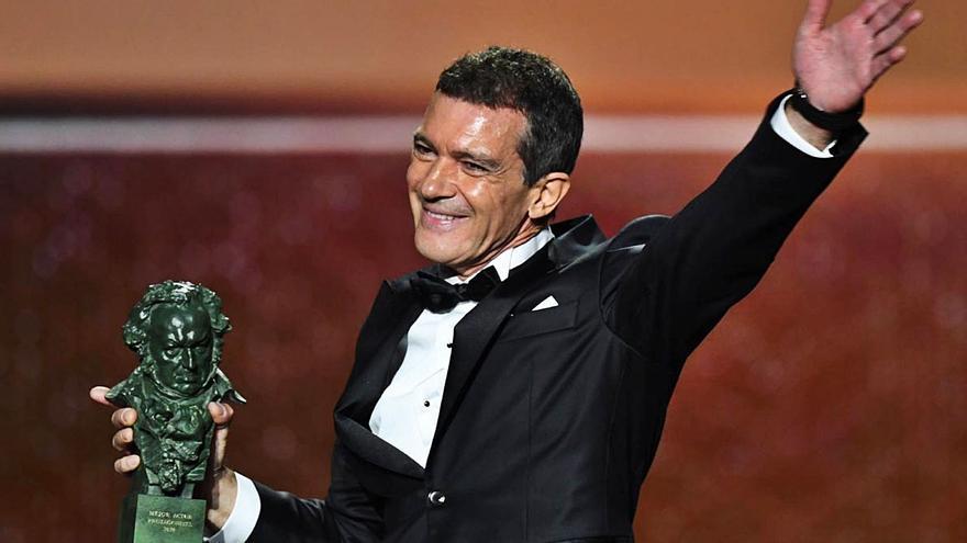 Antonio Banderas  Avanza que los Goya serán «sobrios» y emocionantes