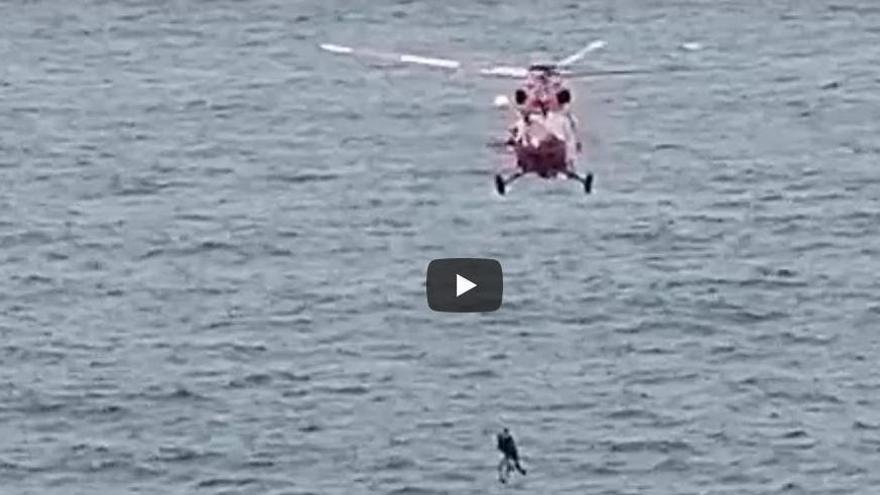Dos personas caen al mar en Icod de Los Vinos