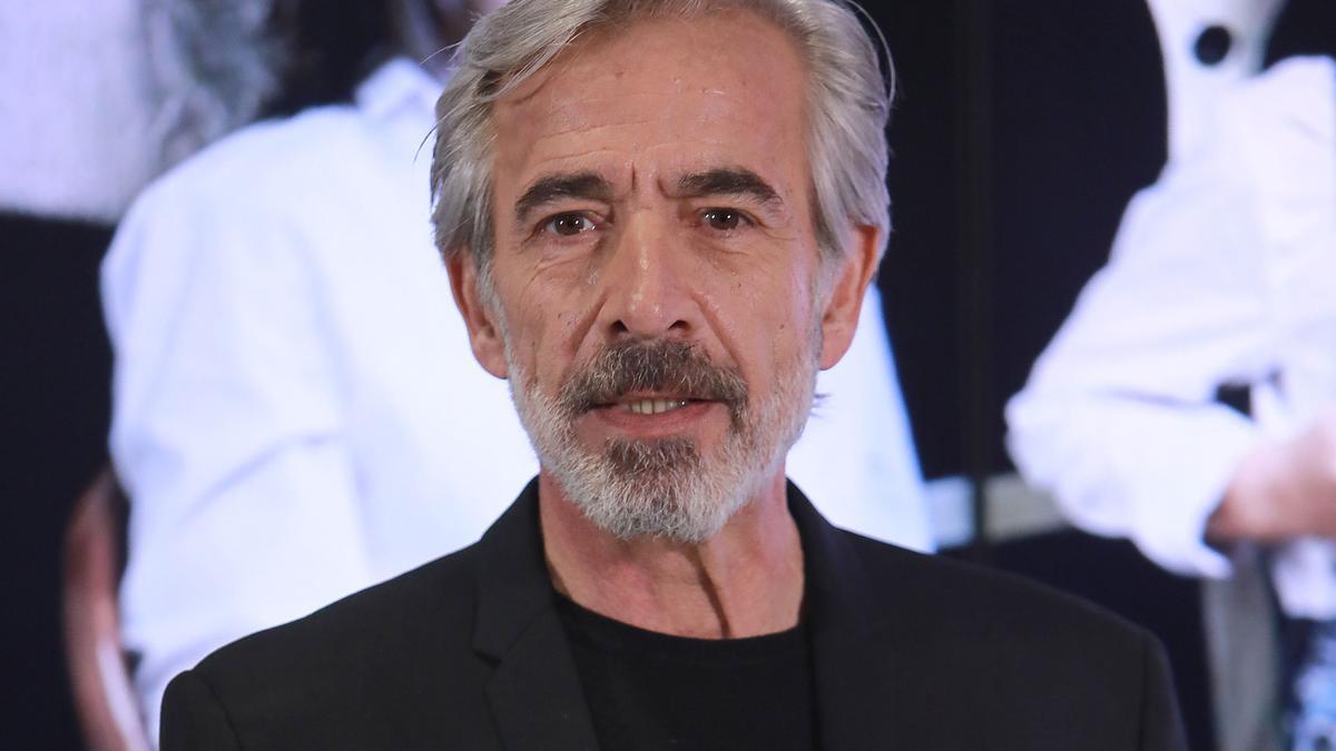Imanol Arias en la presentación de la vigésima temporada de 'Cuéntame'.
