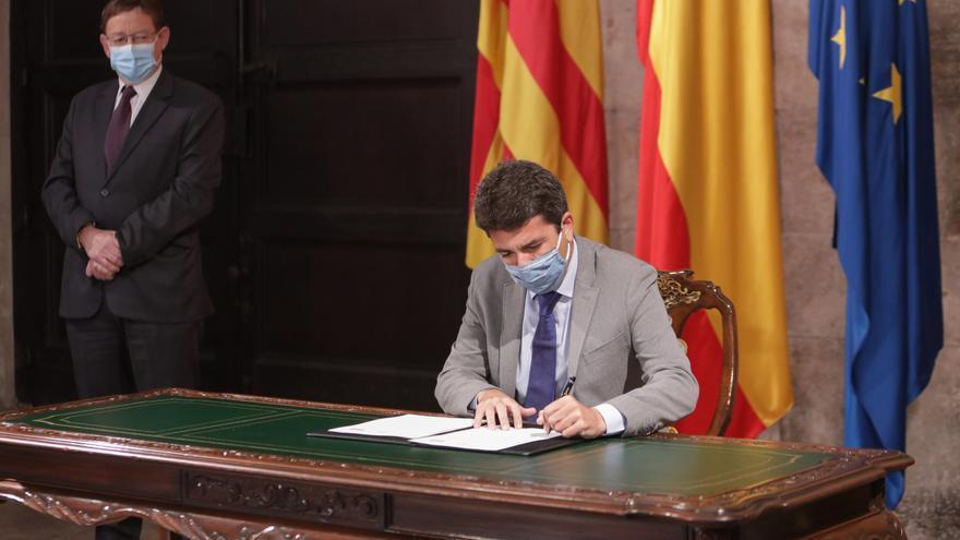 El Botànic ofrece un acuerdo a Bonig y Cantó para consensuar la Ley del Fondo de Cooperación