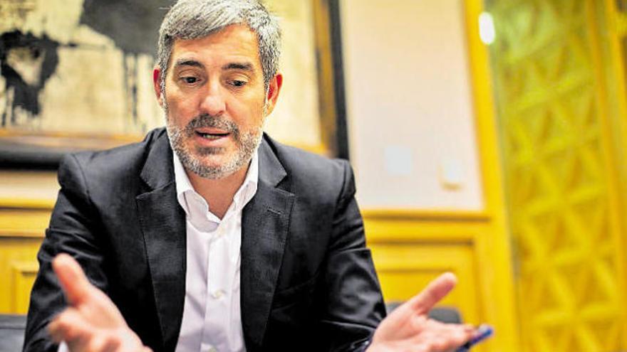 Clavijo pide destinar a sanidad el dinero no usado del fondo para el descuento de residente