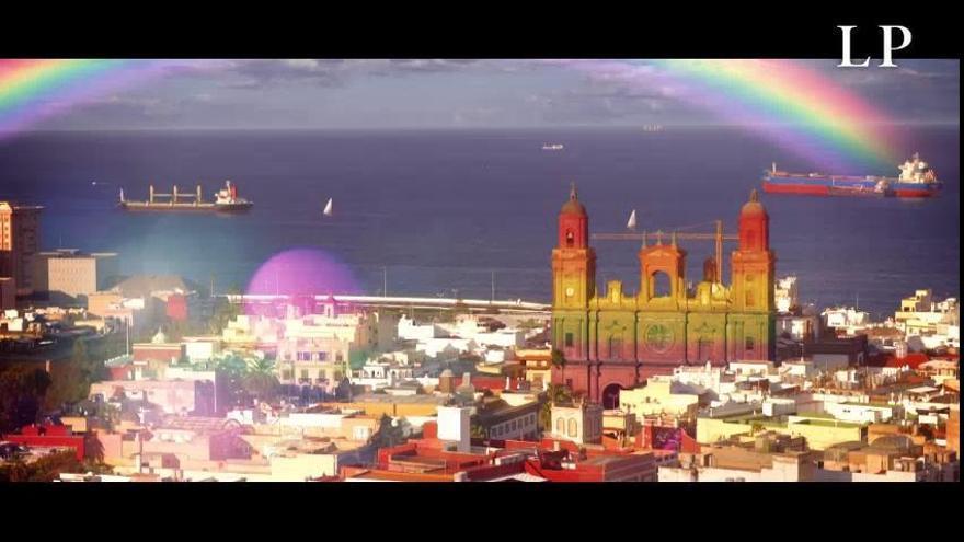 Campaña del Ayuntamiento capitalino por el Día Internacional del Orgullo LGTBI+
