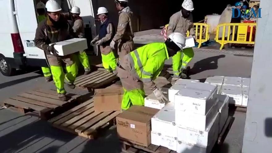 821 Kilo Drogen auf Mallorca verbrannt