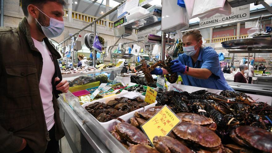 Mariscos y pescados a precio de oro
