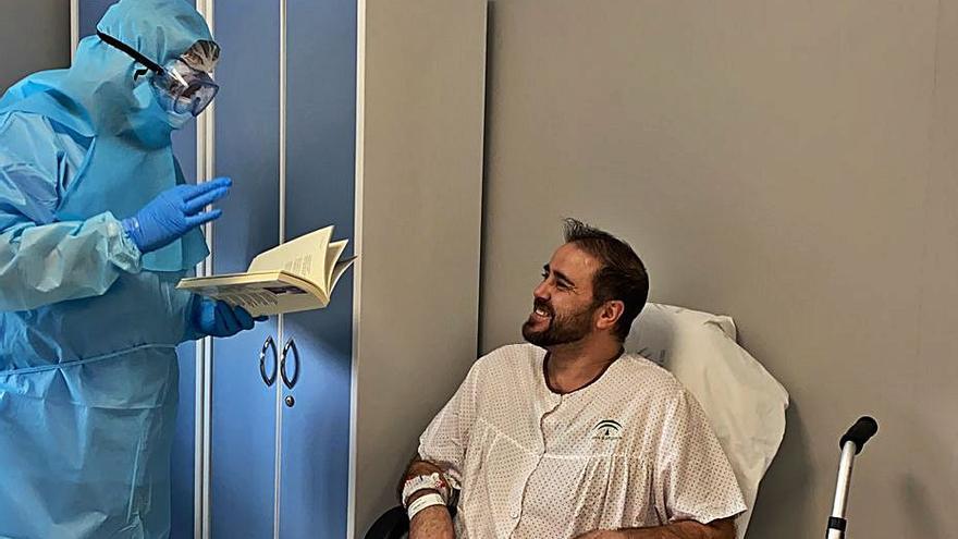 El Regional pone en marcha un plan de acompañamiento terapéutico para pacientes aislados con Covid