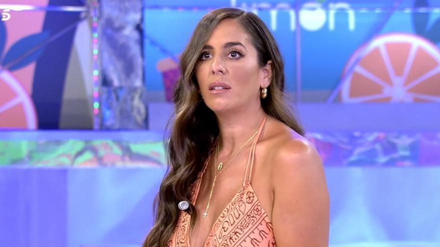 Reacción y primeras palabras de Anabel Pantoja a la posible infidelidad de su pareja, Omar Suárez