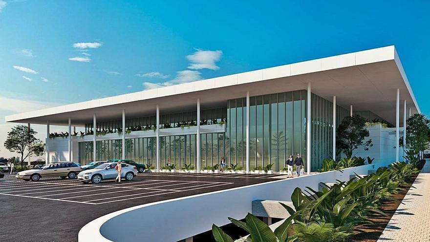 Dinosol construirá una tienda de dos plantas de altura y 303 aparcamientos en Argana Alta