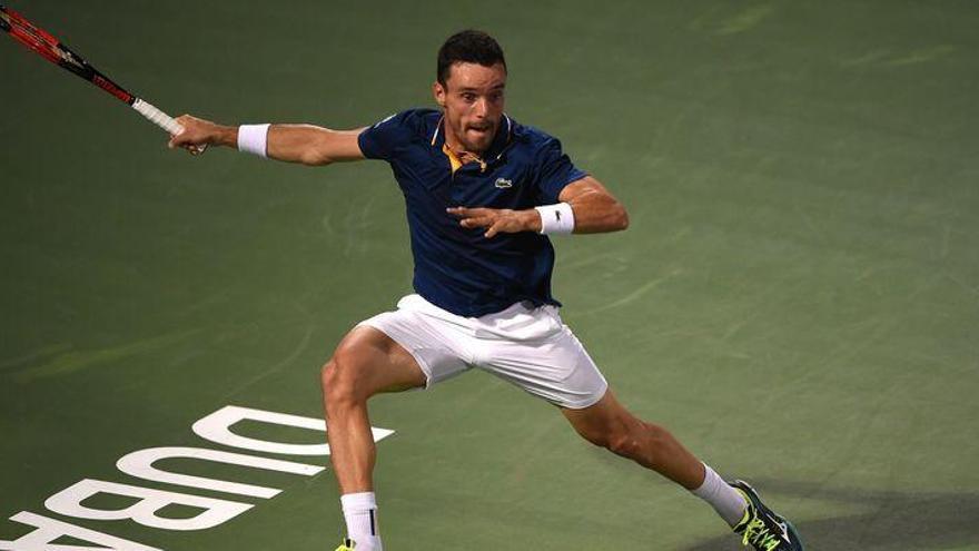 Bautista jugará la final del ATP 500 de Dubái tras vencer a Jaziri