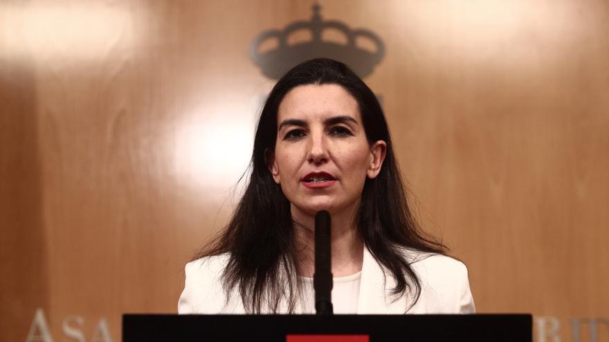"""Monasterio ve posible gobernar con Ayuso """"si no entra Génova en la discusión"""""""