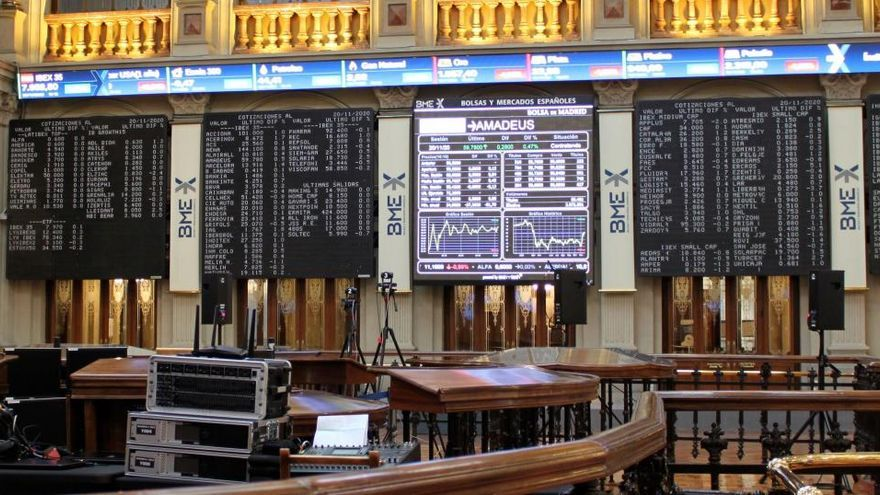 El Ibex 35 cierra la sesión con una caída del 0,74%