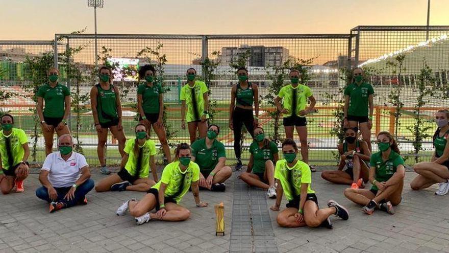 Las atletas del Playas, campeonas de la Copa de España de clubes