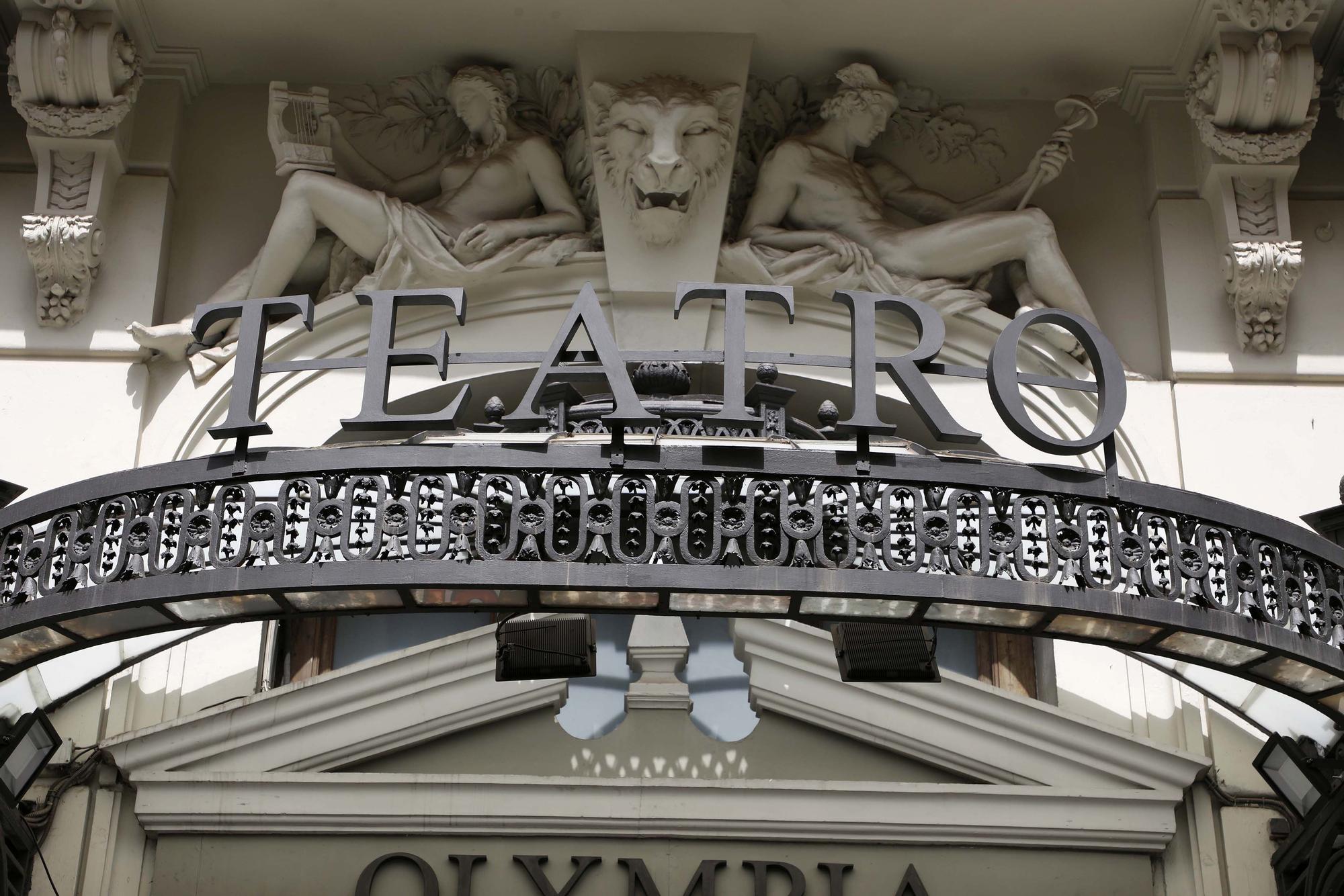 Un paseo por el histórico teatro Olympia