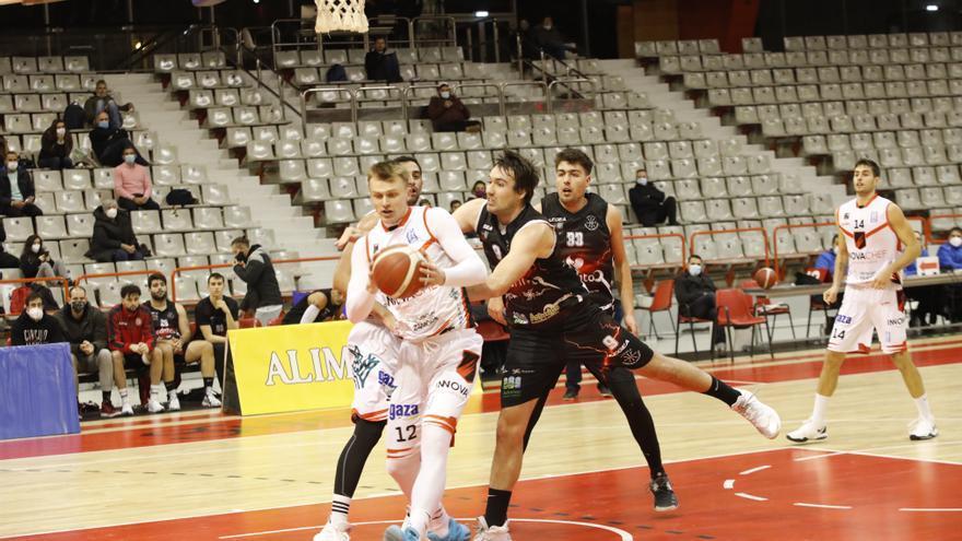 El pívot del Círculo Gijón Baloncesto Marcos Portález, listo para volver