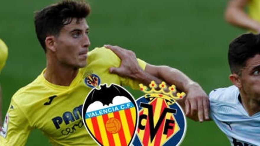 Sigue en directo el Valencia CF-Villarreal CF
