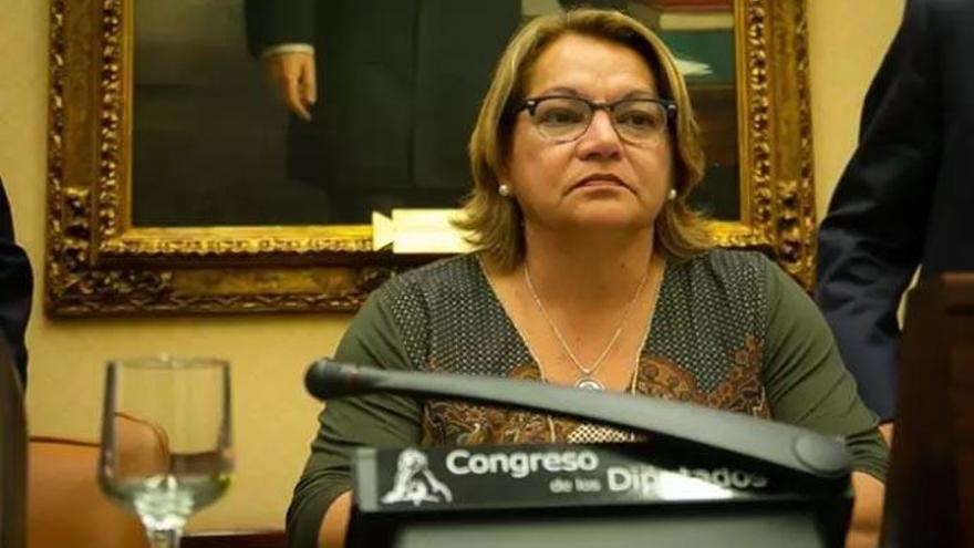 Meri Pita, la candidata de 'En Canarias Podemos' a las primarias
