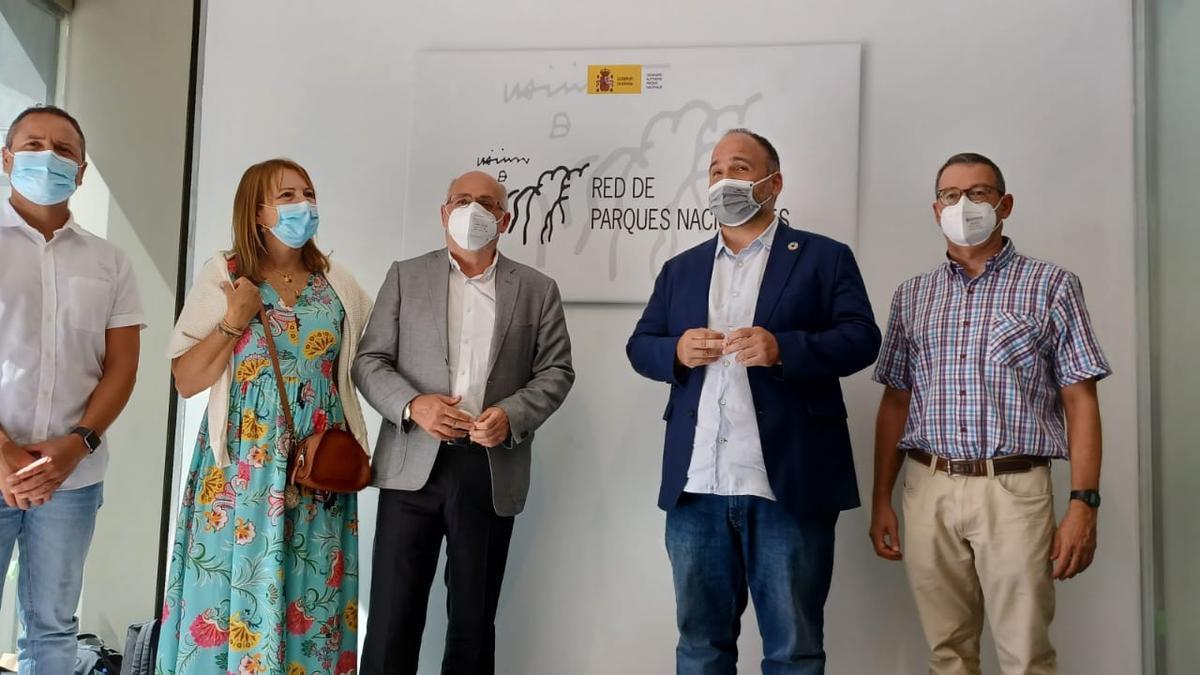 Canarias presenta al Estado su propuesta oficial para declarar Guguy nuevo Parque Nacional