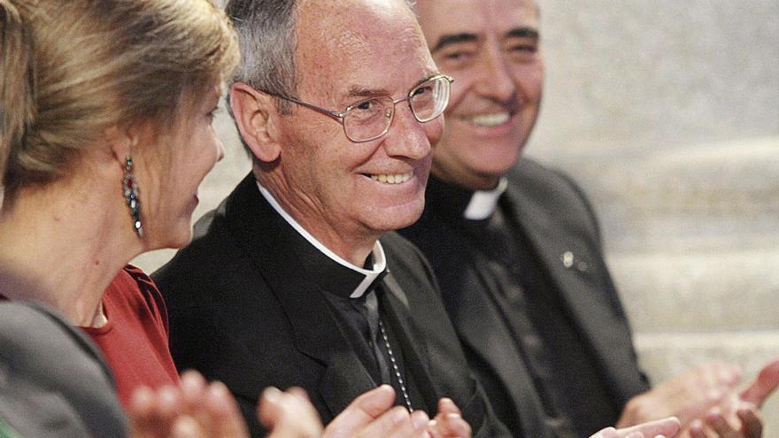 Duelo en Zamora por la muerte de Camilo Lorenzo, obispo de la Diócesis de Astorga entre 1995 y 2015