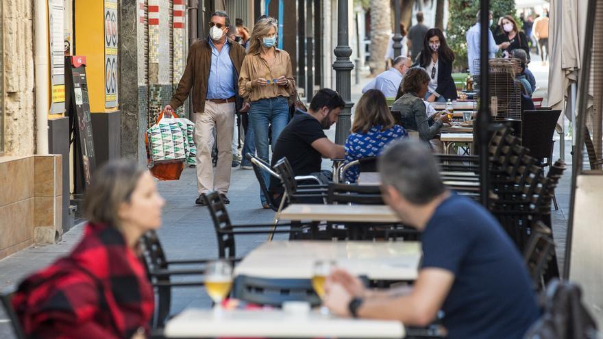 Alicante concede ayudas por 208.000 € a locales con terraza