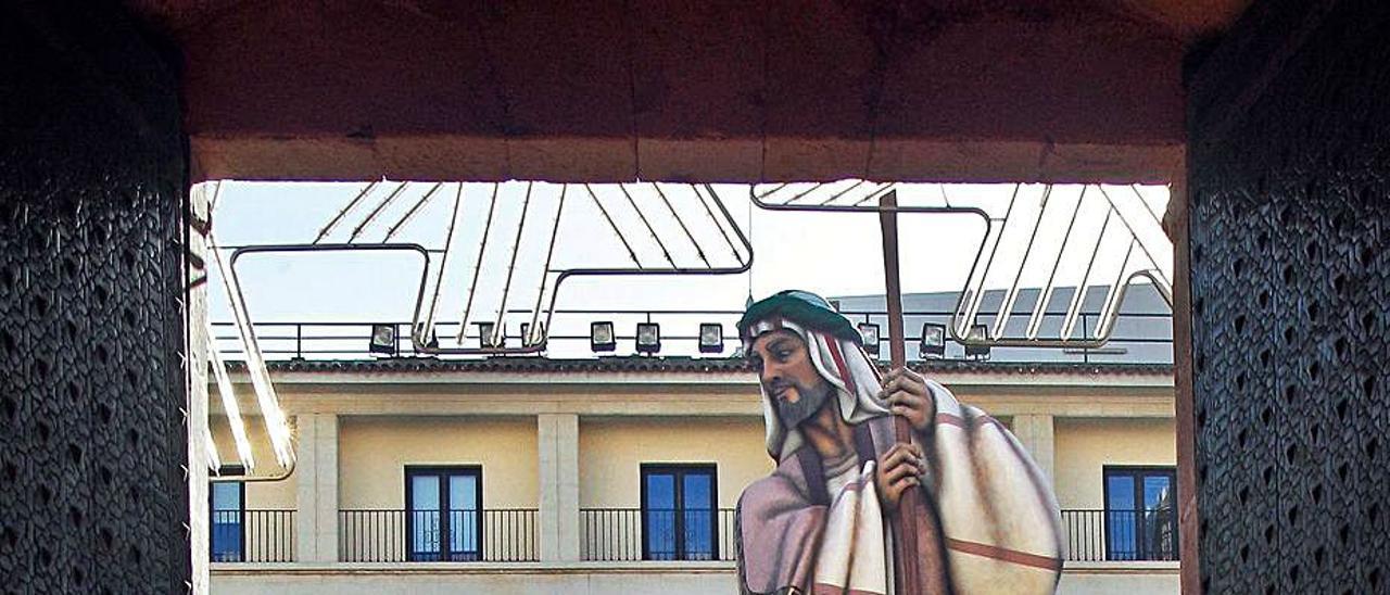 El Belén de Alicante se alza con el Guinness. | EFE/MORELL