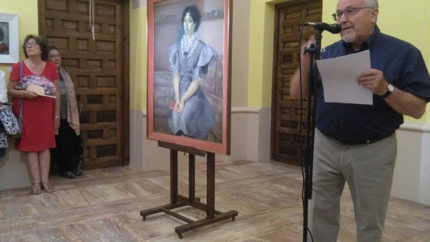 Una exposición divulga en Toro la faceta más creativa de Javier Vila