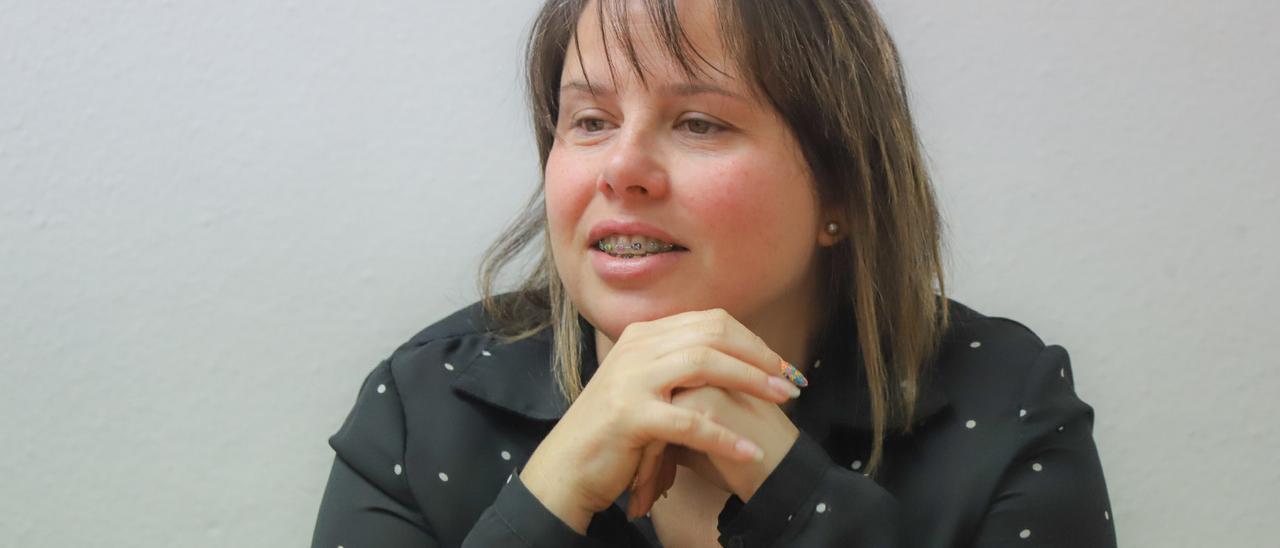 La concejala Carmen Morate
