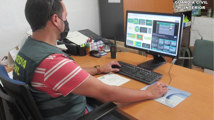 Detenido en Ibi por denunciar una falsa estafa de 17.000 euros, que se gastó en páginas de apuestas