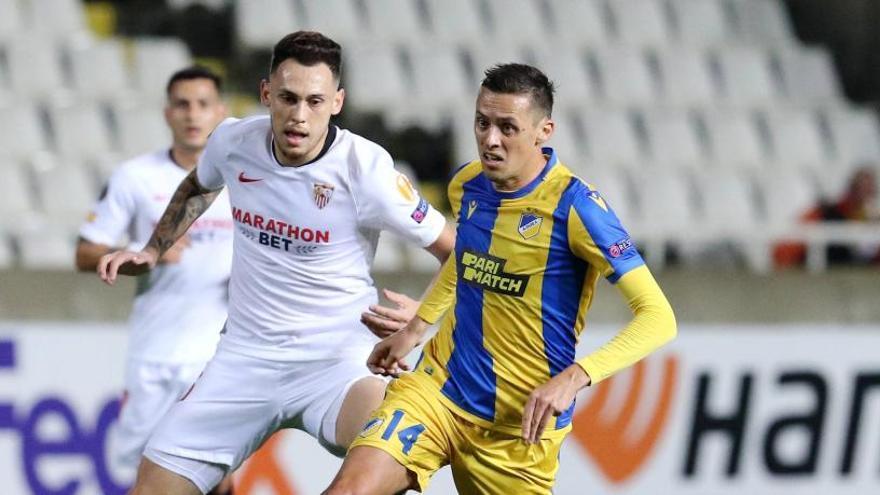 El Sevilla pierde ante el APOEL y mancha su hoja de servicios