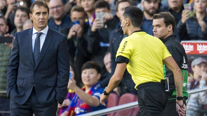 El Real Madrid fulmina a Lopetegui