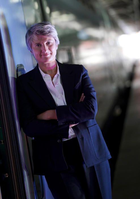 MADRID. 22.09.2020. ECONOMÍA. Hélène Valenzuela, CEO de Ouigo, empresa ferroviaria de alta velocidad, de bajo coste, de la SNCF, que operará en España. FOTO: JOSÉ LUIS ROCA