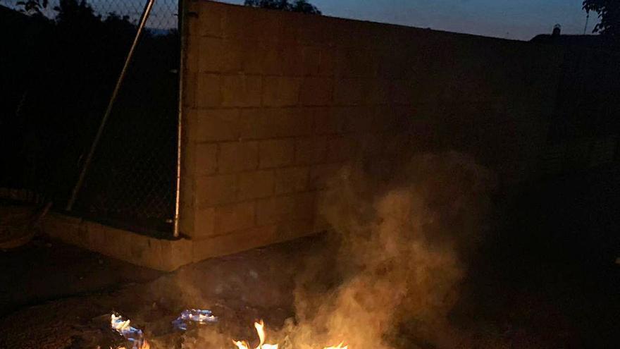 Santa Croya de Tera denuncia actos vandálicos contra su mobiliario urbano