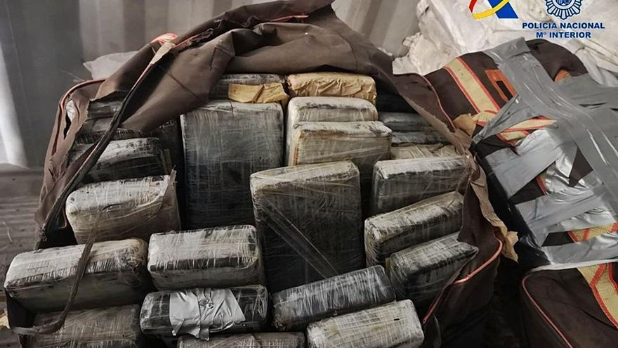 Cae una trama empresarial con 420 kilos de cocaína importada de Costa Rica