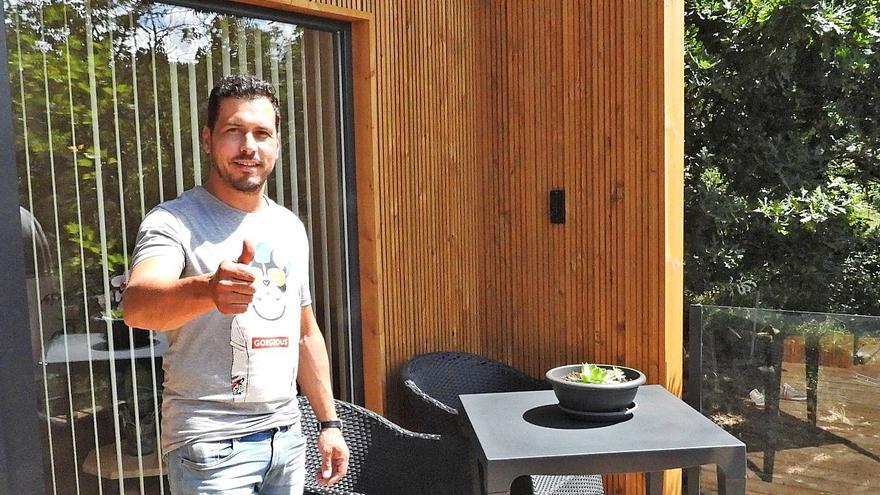 """Pereiro estrena el turismo de cabaña VIP: """"Aquí no hace falta mascarilla"""""""