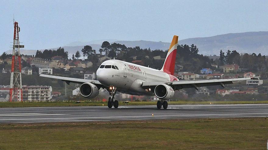 Alvedro capta la cuarta parte de pasajeros que hace un año: 660 al día frente a más de 2.800