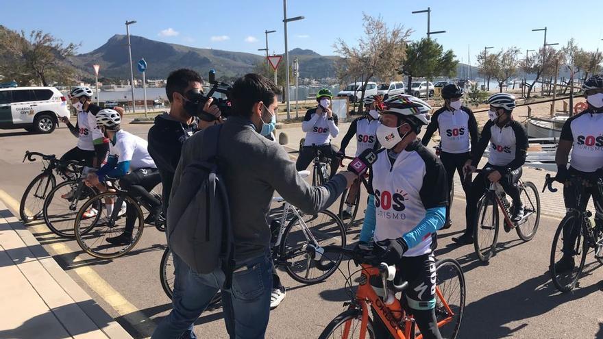 El sector turístico se manifiesta en el norte para exigir vacunas y ayudas