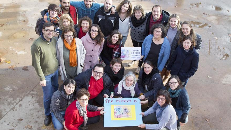 La comunitat educativa del Llagut de Sant Pere Pescador s'internacionalitza