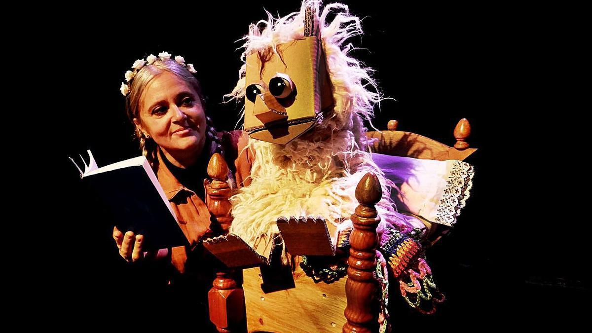 Teatro Los Claveles presentará su espectáculo de títeres 'Hermosinda'.