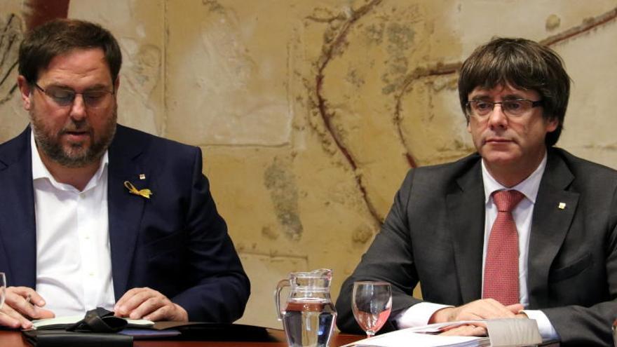 El Tribunal de Comptes reclama 4,1 milions al Govern de Puigdemont per l'1-O