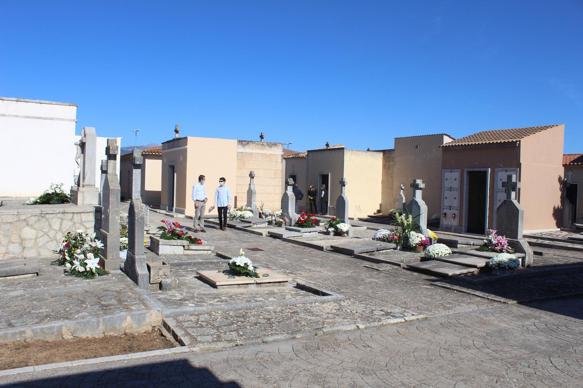 El cementerio de Binissalem.