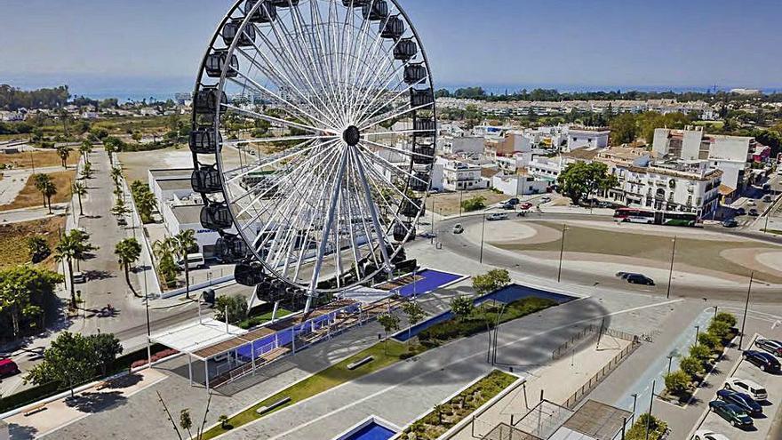 El anteproyecto de la noria de San Pedro sale a exposición pública