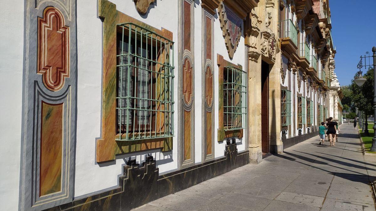 Fachada del Palacio de la Merced, sede de la Diputación de Córdoba.