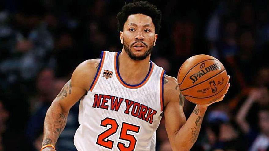 Derrick Rose vuelve a los Knicks