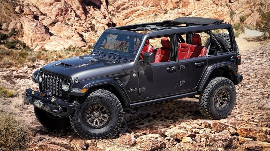 Nuevo Jeep Wrangler Rubicon 392 Concept, con motor V8 de 450 cv